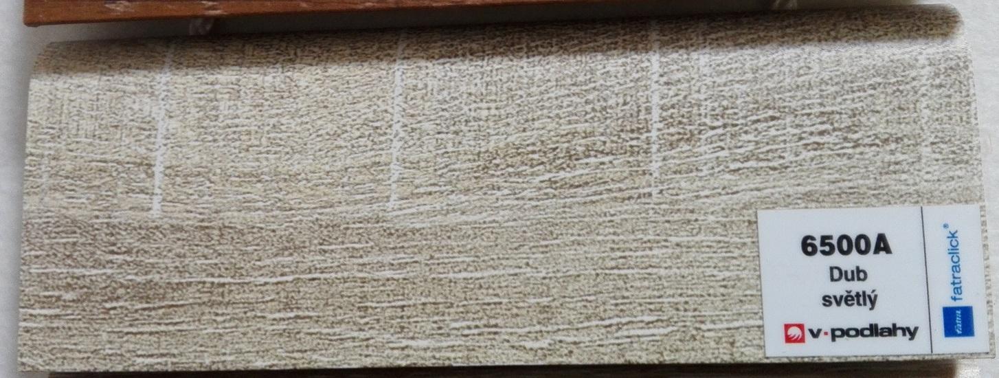 FatraClick soklová lišta Dub světlý 6500A