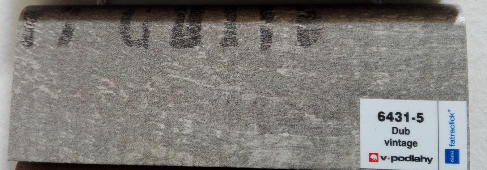 FatraClick soklová lišta Dub vintage 6431-5