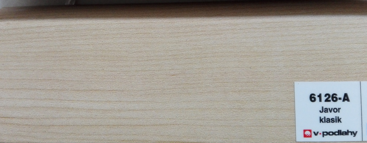 FatraClick soklová lišta Javor Klasik 6126-A