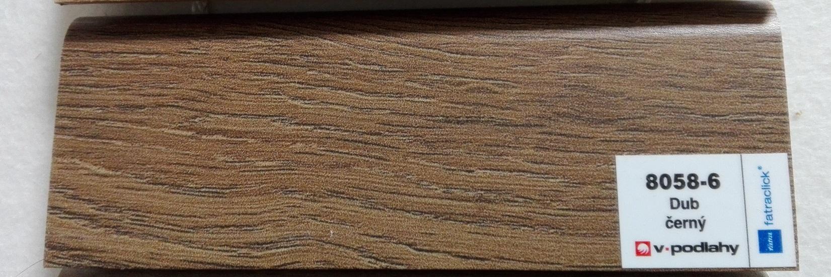 FatraClick soklová lišta Dub černý 8058-6