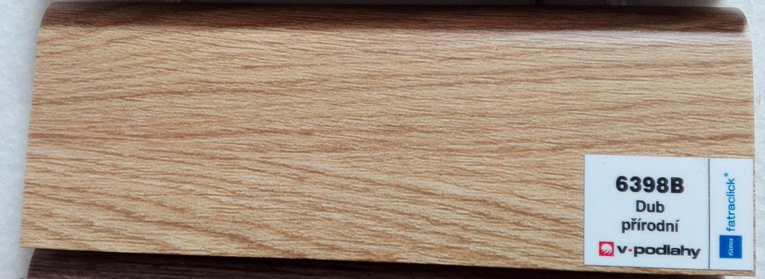 FatraClick soklová lišta Dub přírodní 6398B