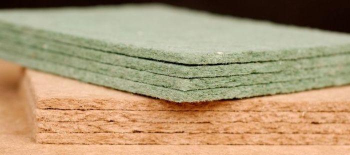 Hobra zelená Steico 4mm